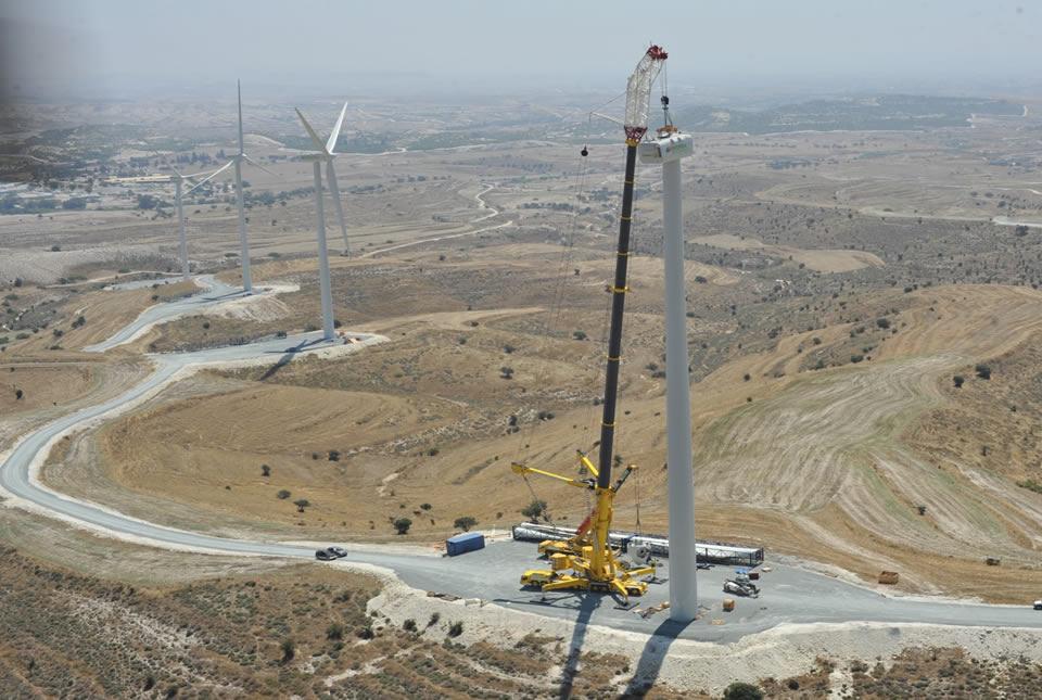 Ayia Anna Wind Farm