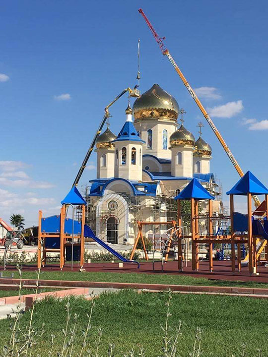 Golden Dome for Russian church