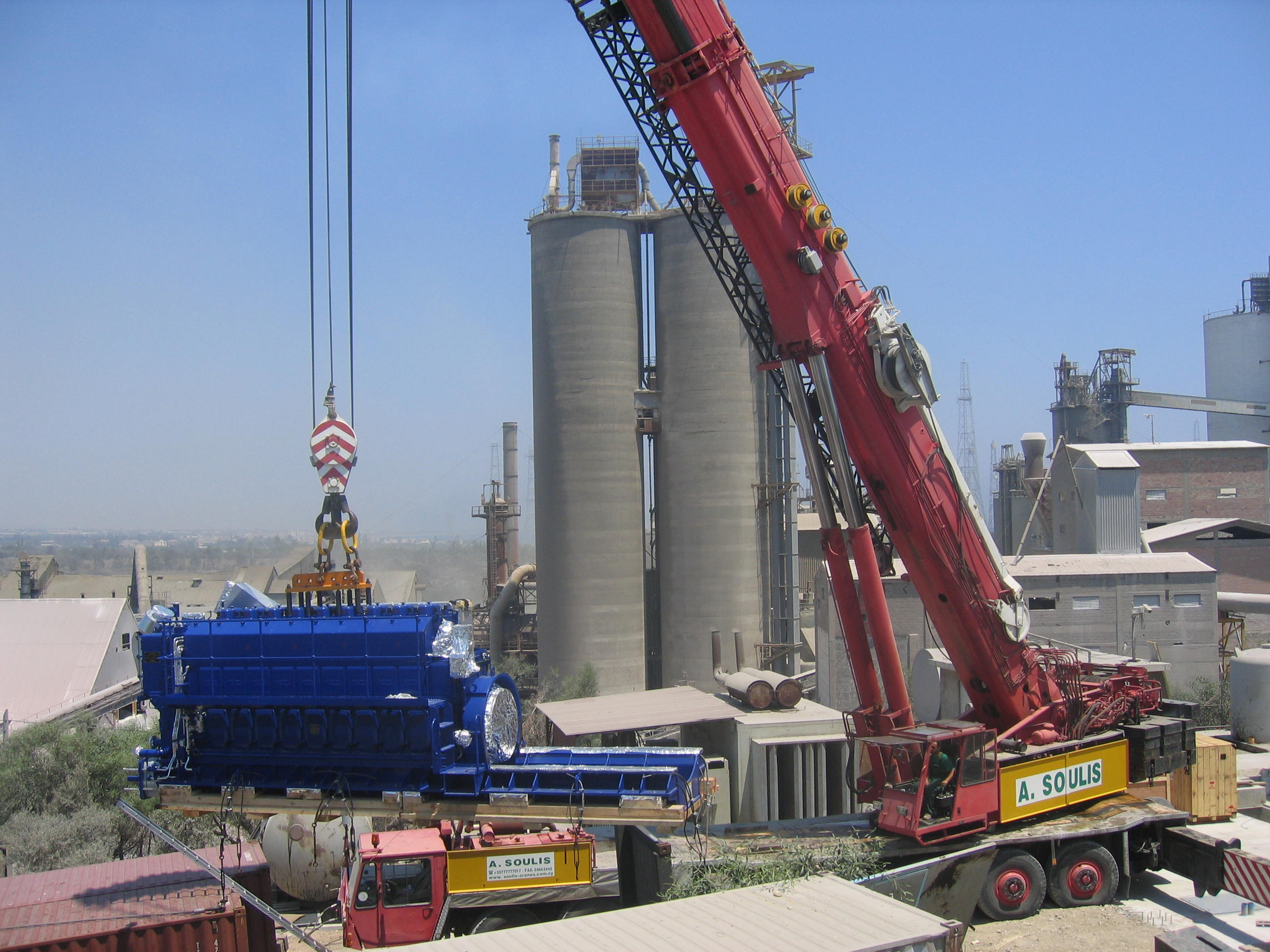 Lifting of Hyundai Engines for VCW power plant