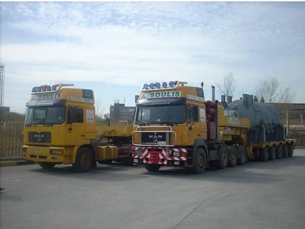 International heavy transport