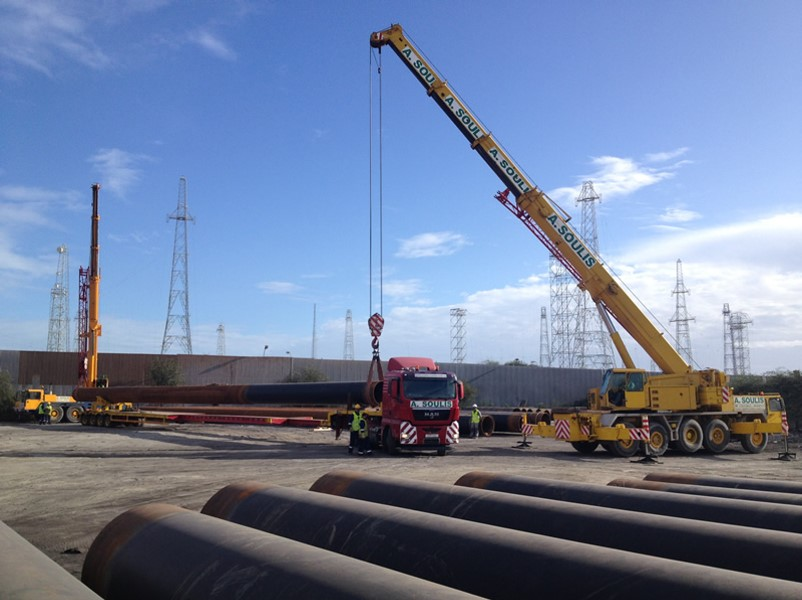 VTTI Jetting Piling Pipes